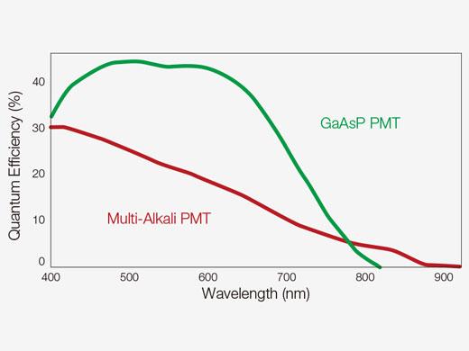 Cooled GaAsP PMT