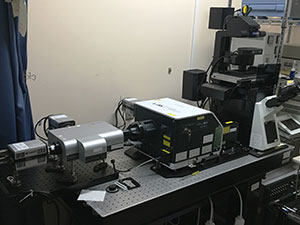 Our current simultaneous three-color fluorescence observation system