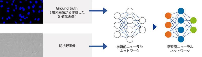 図4 ニューラルネットワークの学習フロー